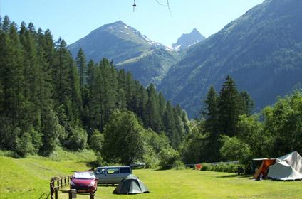 Bivouac canton Valais